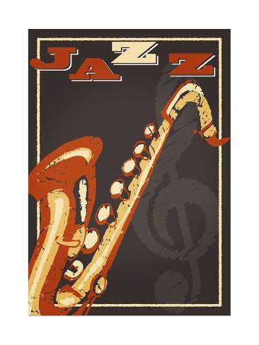 vintage jazz poster