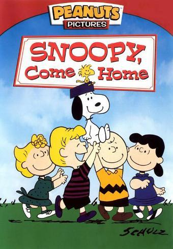 Snoopy Come Home Masterprint