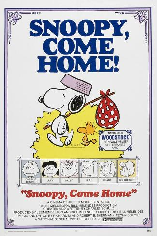 Snoopy, Come Home! Premium Giclee Print