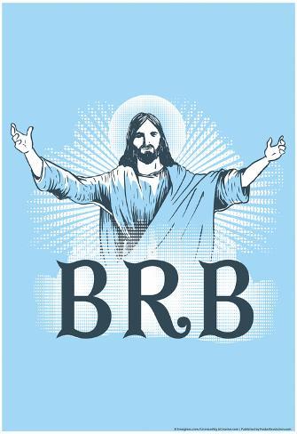 Jesus BRB Poster