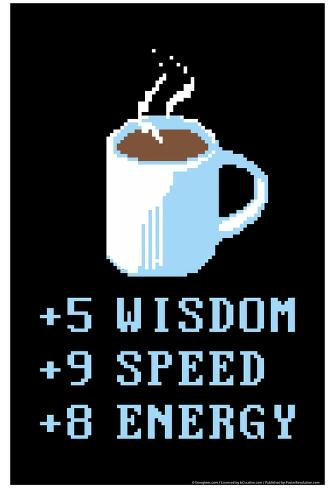 Punti caffè Poster