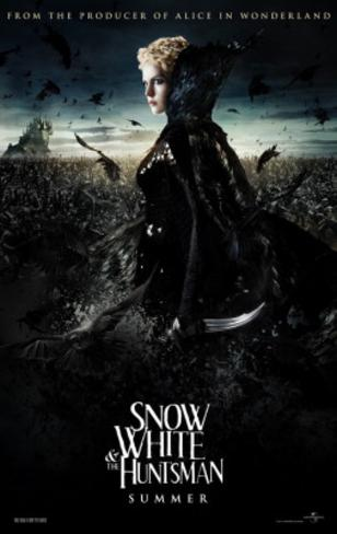 Snow White and the Huntsman (Charlize Theron, Kristen Stuart, Chris Hemsworth) Movie Poster Poster double face