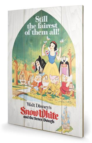 Snow White - Still The Fairest Wood Sign