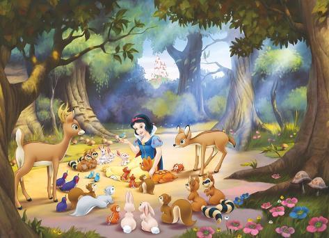 Snow White Wallpaper Mural