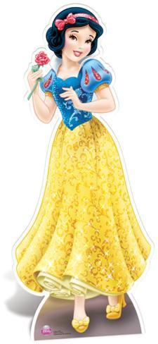 Snow White Cardboard Cutouts