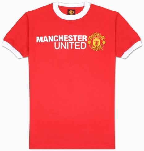 Soccer Manchester United Basic Logo Shirts At