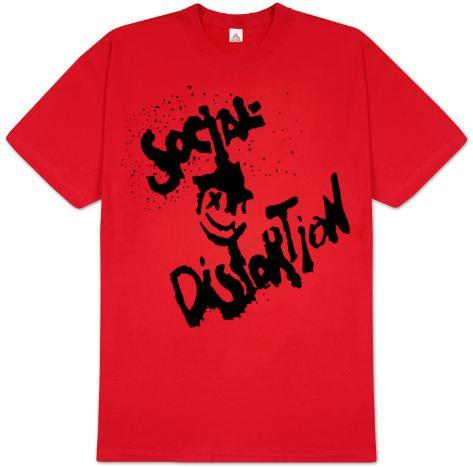 Social Distortion - Happy Face T-Shirt