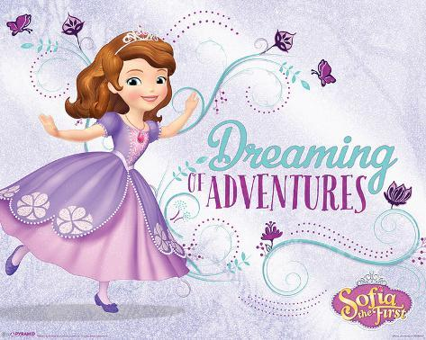 Sofia The First- Dreaming Of Adventure Mini Poster