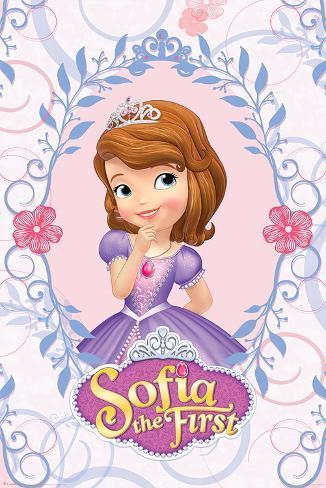 Sofia The First- Rosette Cameo Poster