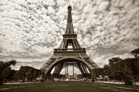 Eiffel Tower in Paris Photographic Print