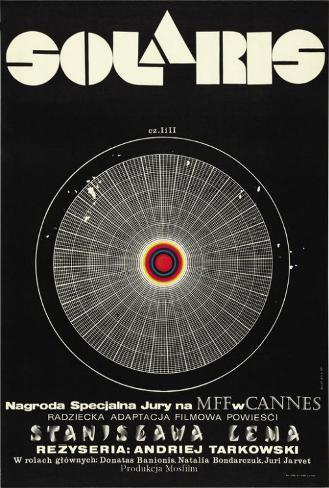 Solaris - Polish Style Poster
