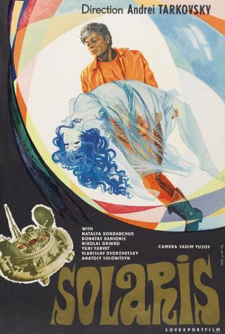 Solaris - Russian Style Poster