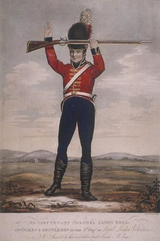 Soldier of the Second Regiment of Loyal London Volunteers, C1800 Giclee Print