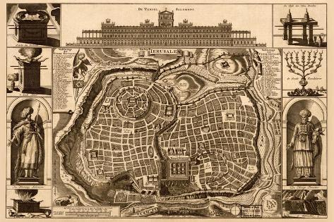 Solomon's Temple - Jerusalem Wall Decal