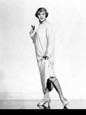 Some Like It Hot, Jack Lemmon, 1959, Showing 'Her' Stockings Fotografia