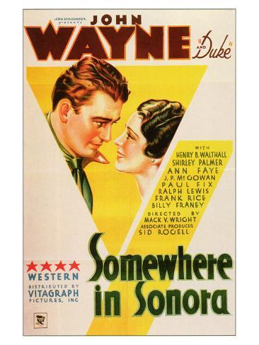 Somewhere in Sonora, 1933 Art Print