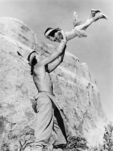 Son of Cochise, 1954 (Taza, Son of Cochise) Photographic Print