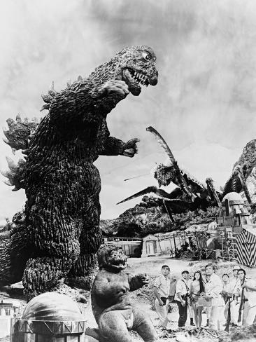 Son of Godzilla, 1967 (Kaijuto No Kessen: Gojira No Musuko) Impressão fotográfica