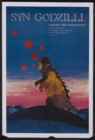 Son of Godzilla - Polish Style Poster