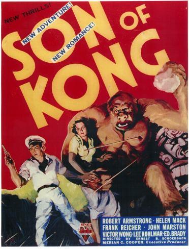 Son of Kong Masterprint