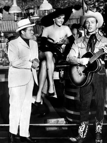 Son Of Paleface, Bob Hope, Jane Russell, Roy Rogers, 1952 Stretched Canvas Print