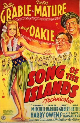 Song of the Islands Masterprint
