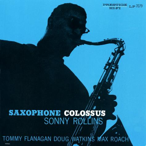 Sonny Rollins - Saxophone Colossus Art Print
