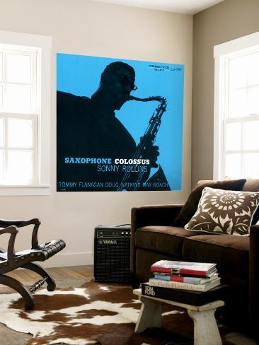 Sonny Rollins - Saxophone Colossus Wall Mural