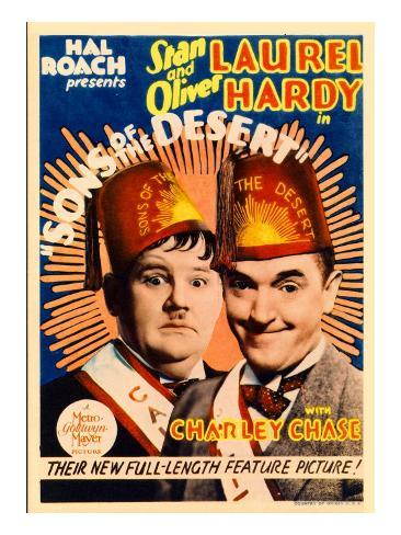 Sons of the Desert, Oliver Hardy, Stan Laurel, 1933 Photo