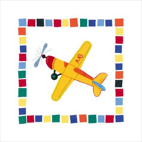 Aeroplane Art Print