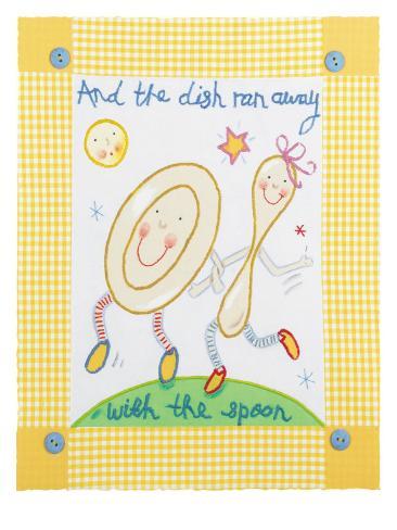 And the Dish Ran Away Premium Giclee Print