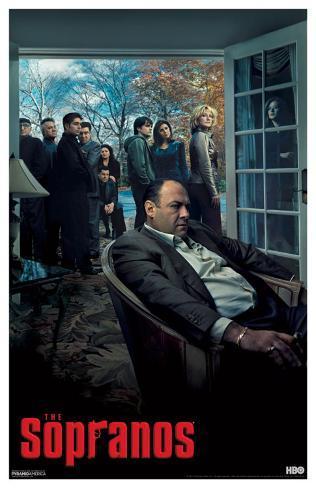 Sopranos - Living Room Masterprint