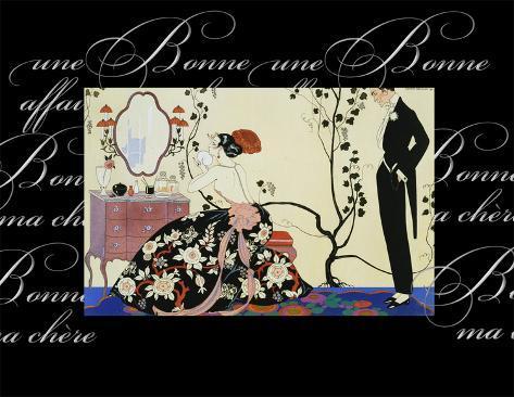 Souffle de Poudre Art Print