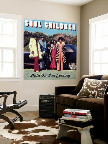 Soul Children - Hold On, I'm Coming Wall Mural
