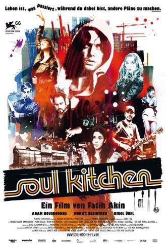 Soul Kitchen - German Style Poster
