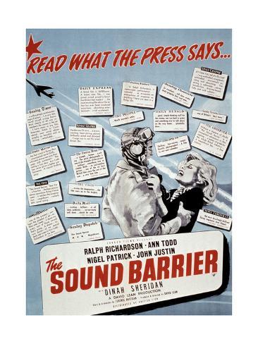 Sound Barrier (The) Art Print