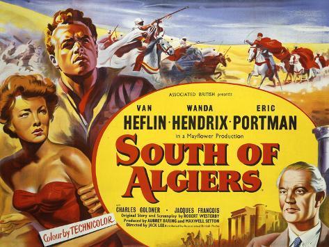 South of Algiers Art Print