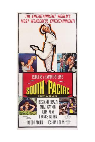 South Pacific, 1958 ジクレープリント