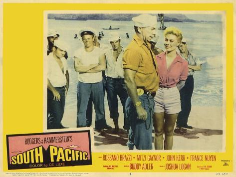South Pacific, 1959 Art Print