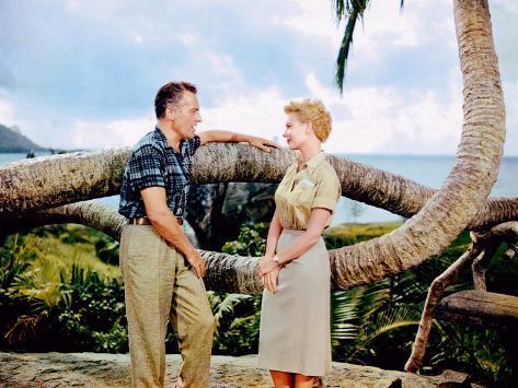 South Pacific, Rossano Brazzi, Mitzi Gaynor, 1958 Photo