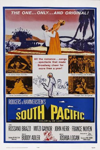 South Pacific Art Print