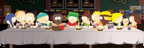 South Park - Das Letzte Abendmahl Door Poster