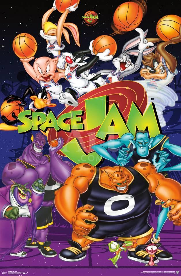 Space Jam Movie Artwork Posters At Allposters Com