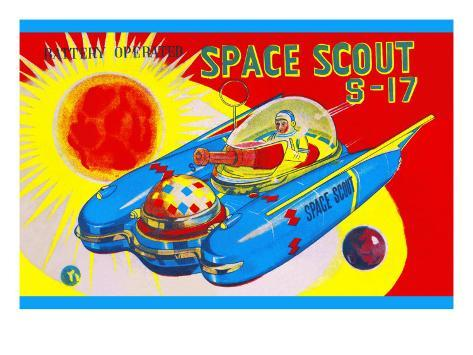Space Scout S-17 Art Print