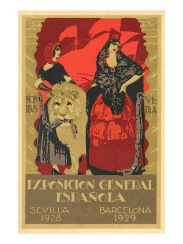 Spanish Fair Art Print