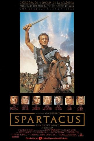 Spartacus: Rebel Against Rome, Directed by Stanley Kubrick, 1960 Giclee Print