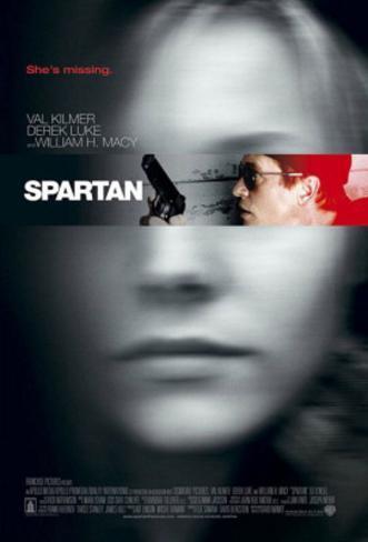 Spartan Movie Poster Poster originale