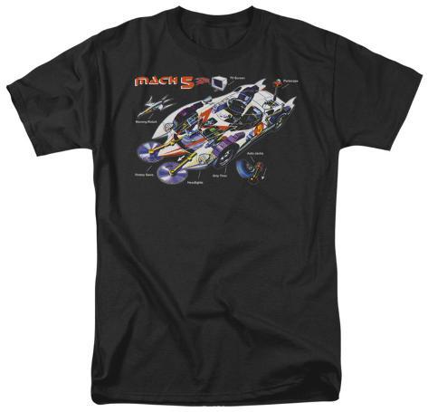 Speed Racer-Mach 5 Specs T-Shirt
