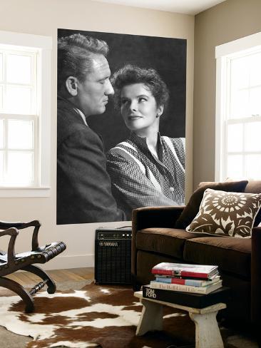 Spencer Tracy & Katharine Hepburn Giant Art Print