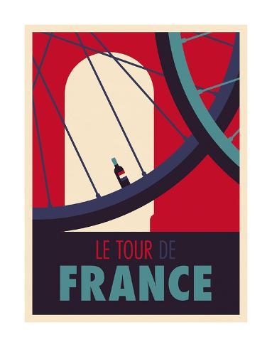 tour de france posters by spencer wilson. Black Bedroom Furniture Sets. Home Design Ideas